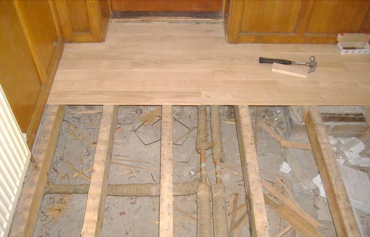 Что представляет собой деревянный пол