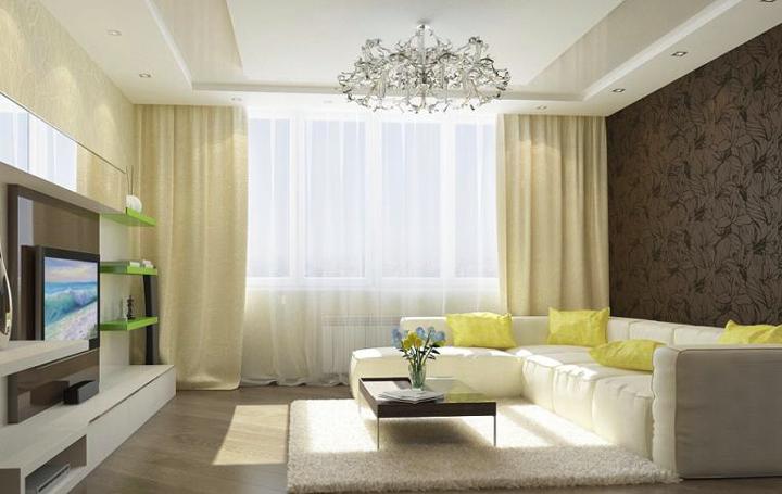 Интерьер комнаты в квартире