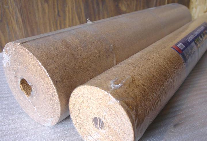 Пробковая подложка толщиной 2 и 3 мм