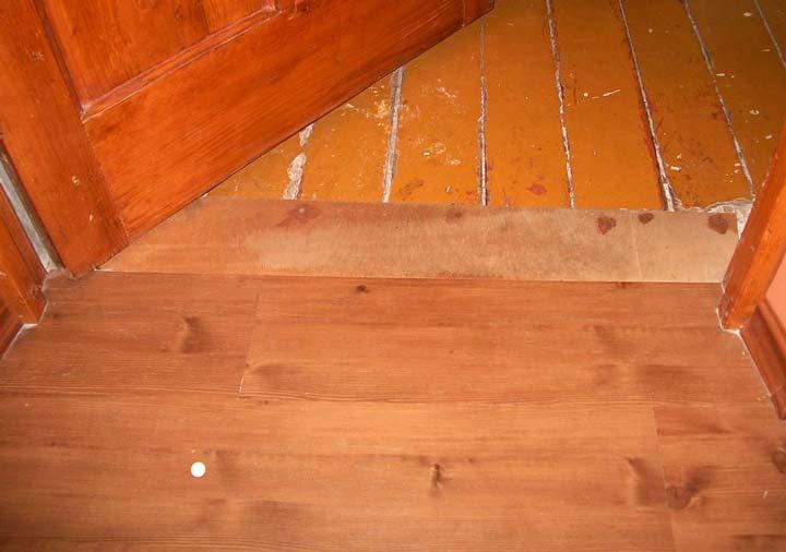 Постелить линолеум на деревянный пол 61