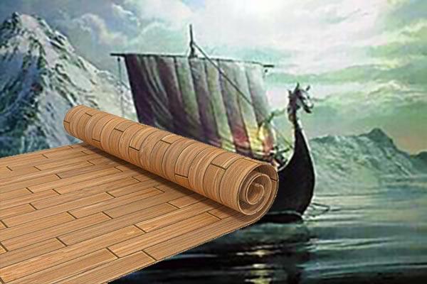 Древний корабль и линолеум