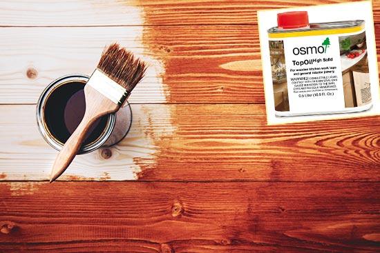 Масло OSMO для покраски дерева