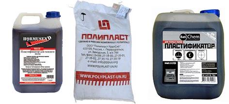 Пластификаторы марки Полипласт СП-1, HLV-75, Batichem