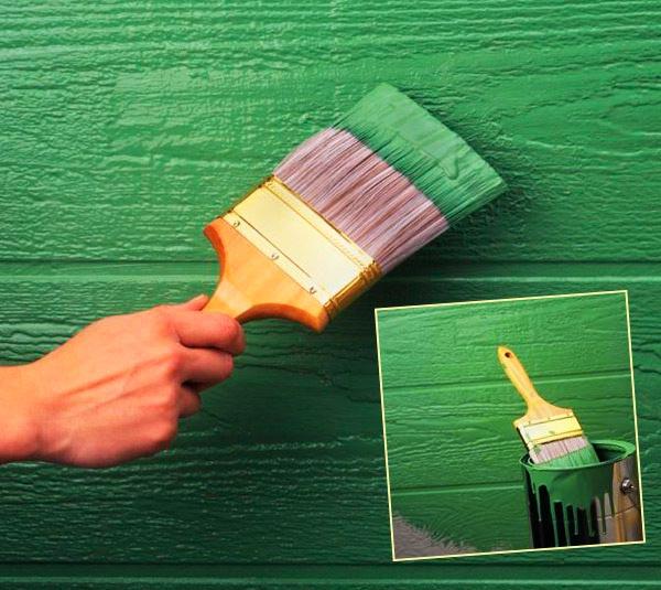 Плюсы резиновой краски