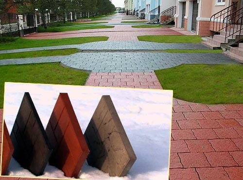 Тротуарная полимерпесчаная плитка плюсы и минусы