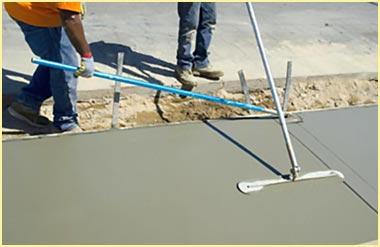 Этап железнения бетона