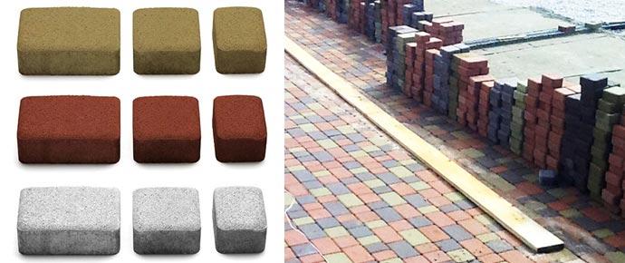 Размеры и качество тротуарной плитки