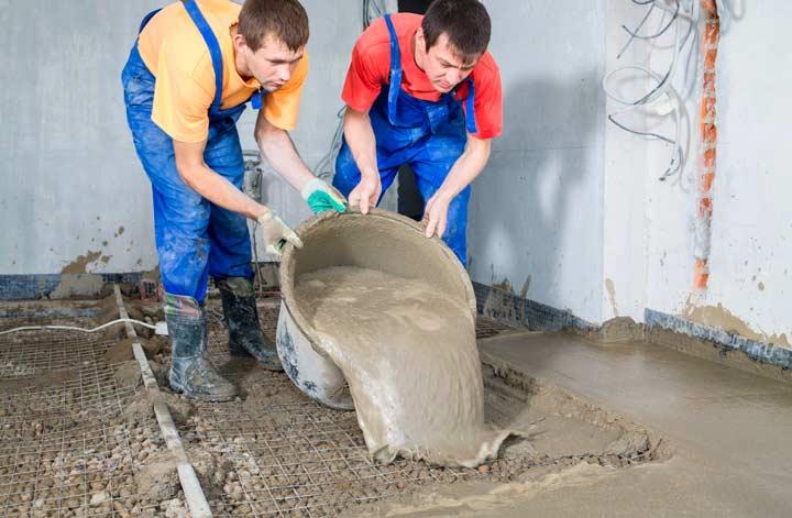 Цементные промышленные полы