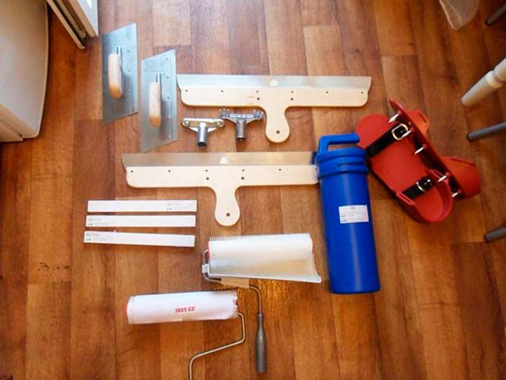 Дополнительные инструменты для стяжки