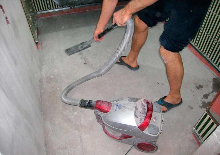 Подготовка несущей поверхности