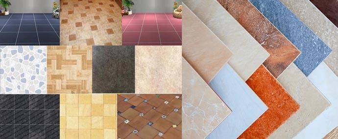 Выбор и разновидности плитки