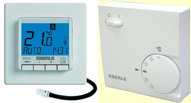 EBERLE немецкие терморегуляторы