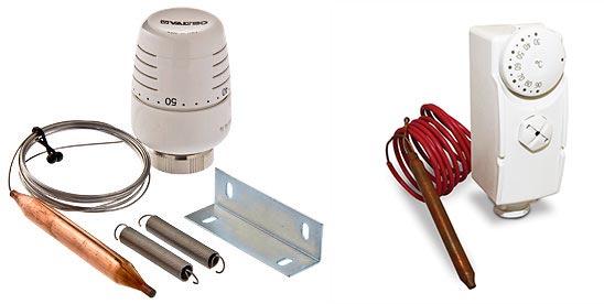 Комплекты термостата с датчиком внутренним и внешним