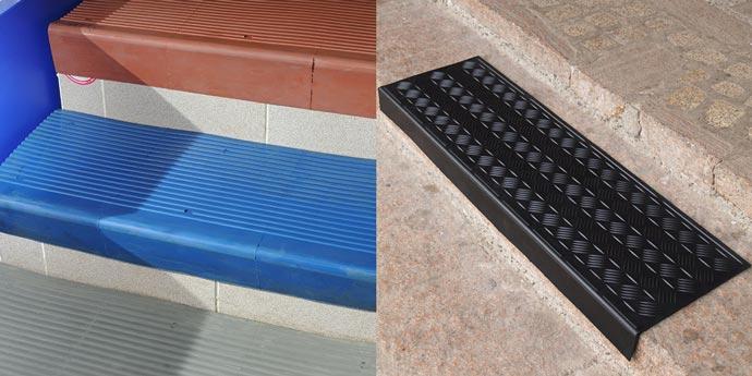 Плиты и накладки антискользящие на ступени