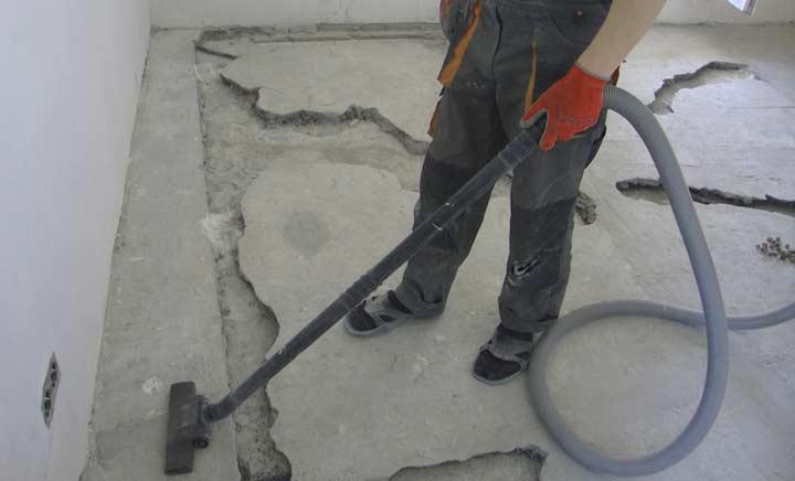 Подготовка поверхности под стяжку