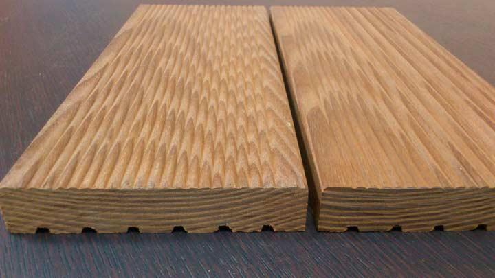 Палубная доска из древесины ясеня