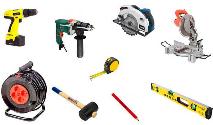 Инструменты для укладки террасной доски