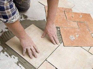 как уложить плитку керамической плитки своими руками