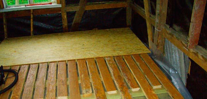 Фанера на ровный деревянный пол от скрипа