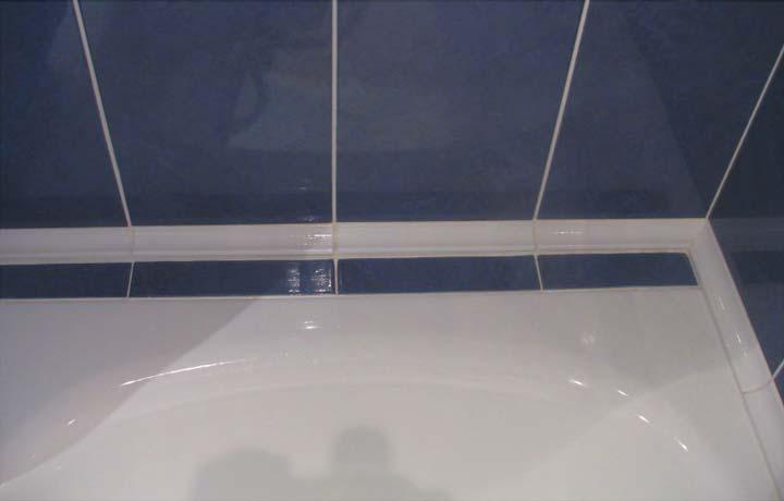 Силиконовые плинтуса в ванную