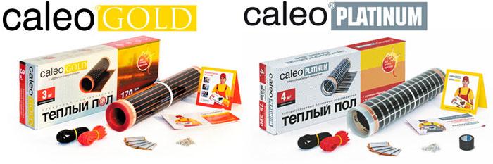 Caleo platinum Caleo Gold теплый пол