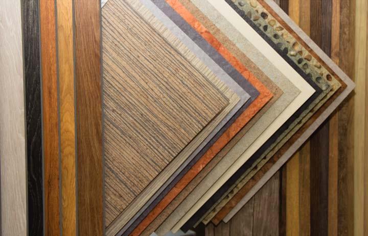 Виды кварц-виниловой плитки