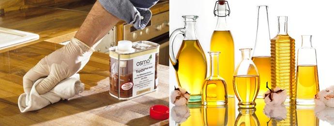Масла OSMO и растительные масла