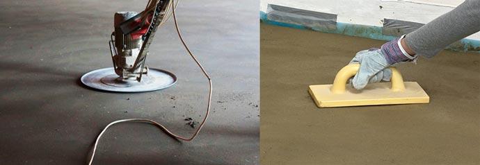 что такое железнение бетона