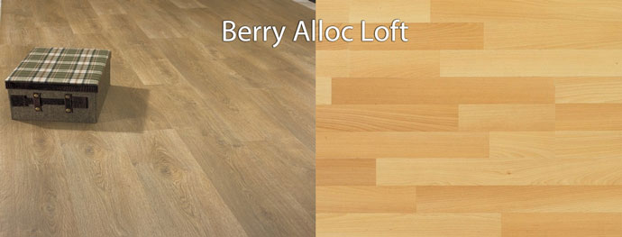 Berry Alloc Loft ламинат как паркет