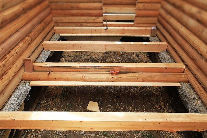 Подготовка к монтажу деревянных полов