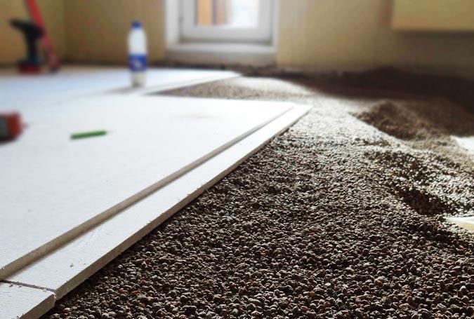 Монтаж сухой стяжки в квартире