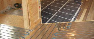 Водяной или электрический пол на деревянный пол