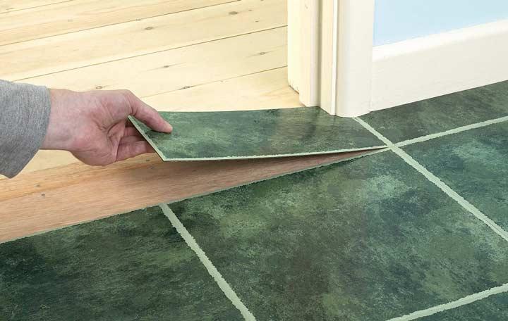 Виниловая плитка на пол