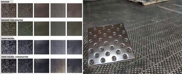 Металлическая плитка в промышленности