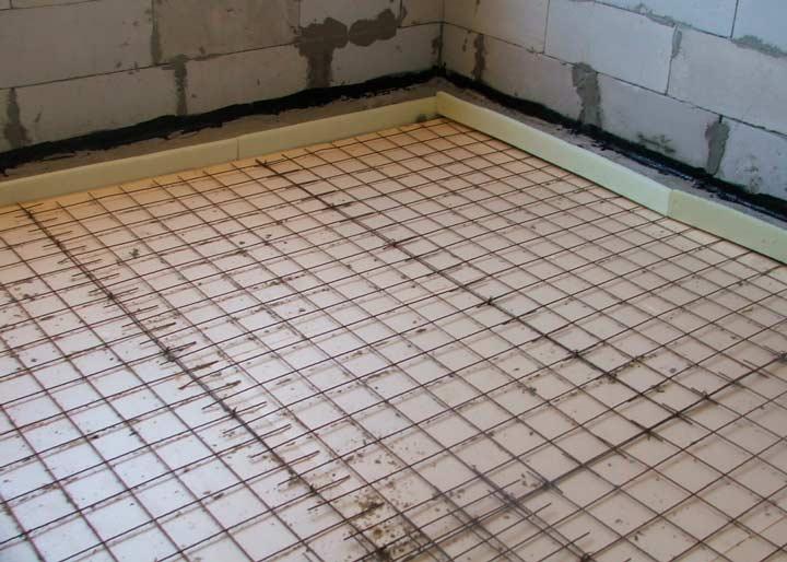 Подготовка основания для бетонного пола