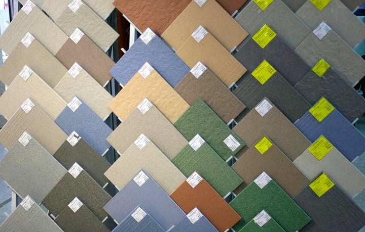 Разновидности плитки