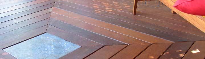 Палубная доска из древесины ипе