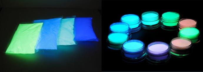 Светящиеся средства - жидкие и сухие