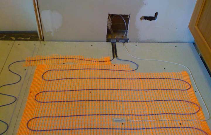 Электрический теплый пол