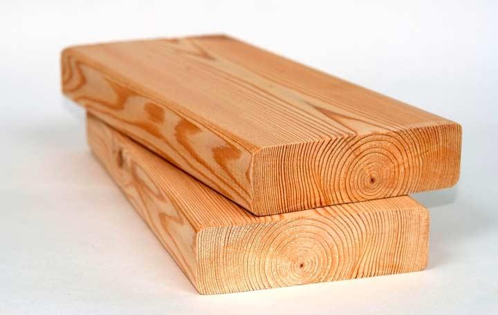 Палубная из дерева лиственницы