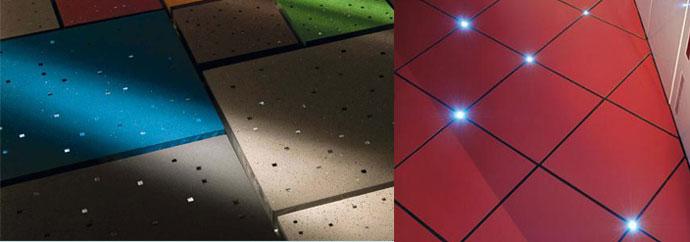 Светодиоды в плитке