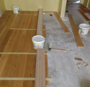 Как подготовить бетонный пол