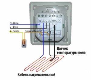 Термодатчики теплого пола